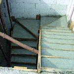 Betonowanie schodów